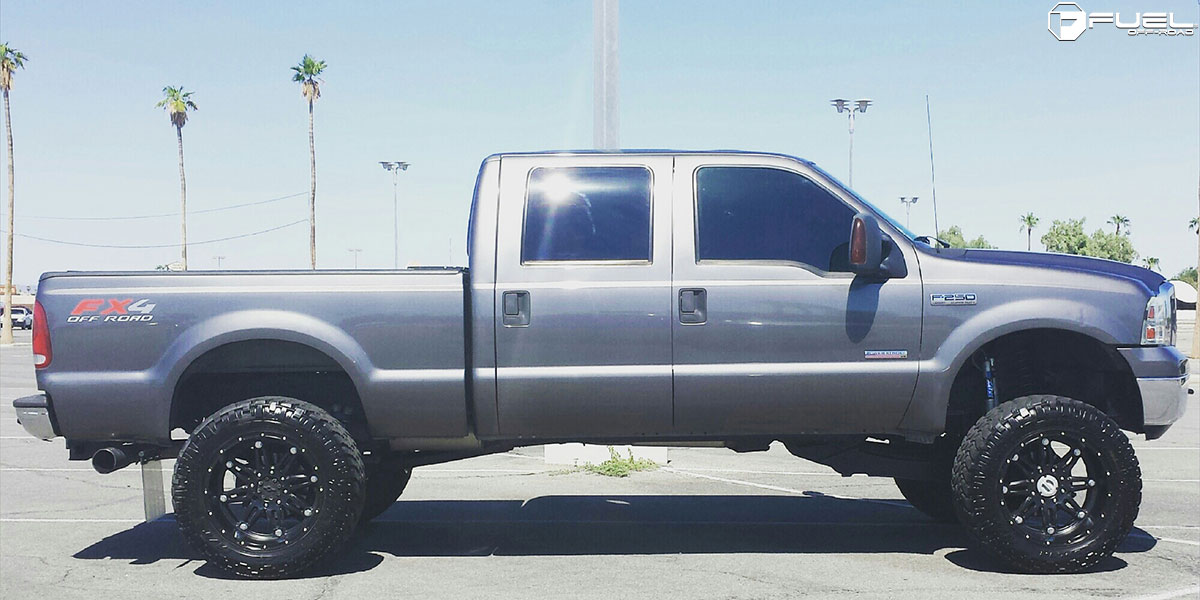 Ford F-250 Super Duty Hostage - D531 Gallery - Fuel Off-Road Wheels