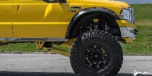 Ford F-250 Super Duty with Fuel Deep Lip Wheels Hostage - D531