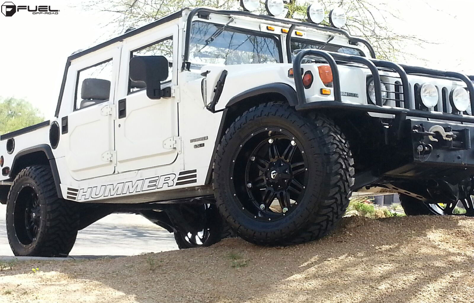 Toyota Dually Truck Hummer H1 Hostage - D531 Gallery - Fuel Off-Road Wheels