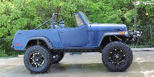 Jeep Jeepster with Fuel Deep Lip Wheels Hostage - D531