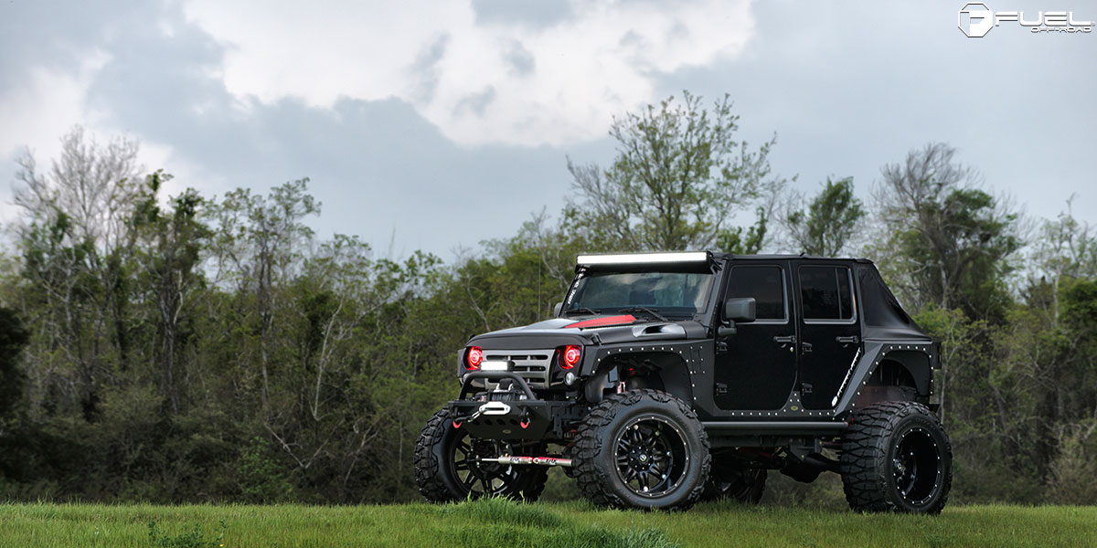 Jeep Wrangler Hostage D531 Gallery Fuel Off Road Wheels