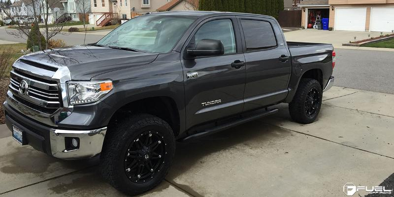 Toyota Tundra with Fuel Deep Lip Wheels Hostage - D531