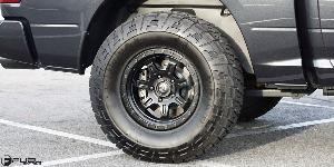 Dodge Ram 1500 with Fuel 1-Piece Wheels JM2 - D572