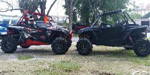 ATV - Polaris RZR with Fuel UTV Wheels Maverick - D538 - UTV