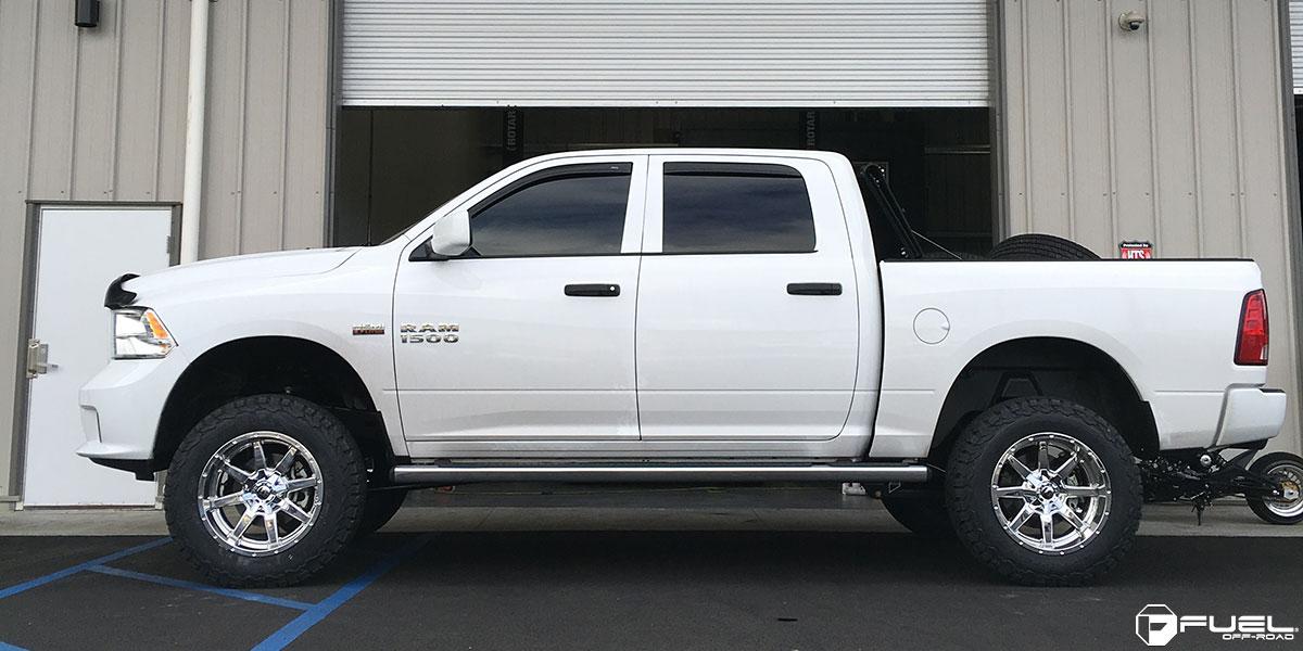 Dodge Ram 1500 Maverick - D536 Gallery - Fuel Off-Road Wheels