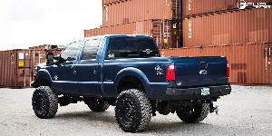 Ford F-250 Super Duty with Fuel 2-Piece Wheels Maverick - D262