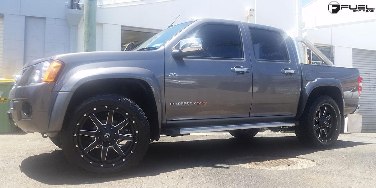 Lifted Chevy Colorado >> Chevrolet Colorado Maverick - D538 Gallery - Fuel Off-Road ...
