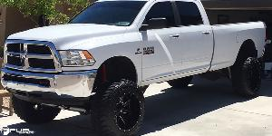 Dodge Ram 2500 with Fuel 2-Piece Wheels Maverick - D262