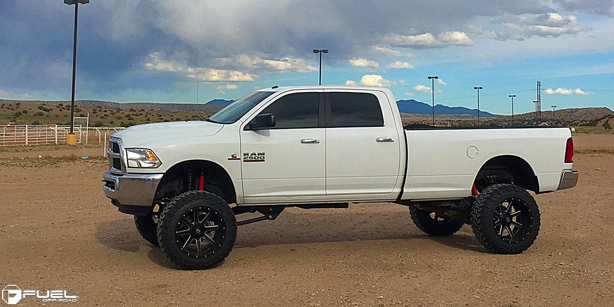 Dodge Ram 2500 Maverick D262 Gallery Fuel Off Road Wheels