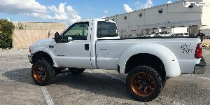 Ford F-250 with Fuel 1-Piece Wheels Maverick - D538