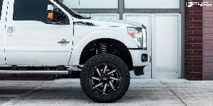Ford F-250 Super Duty with Fuel 2-Piece Wheels Moab - D242