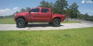 Toyota Tacoma with Fuel 2-Piece Wheels Moab - D242