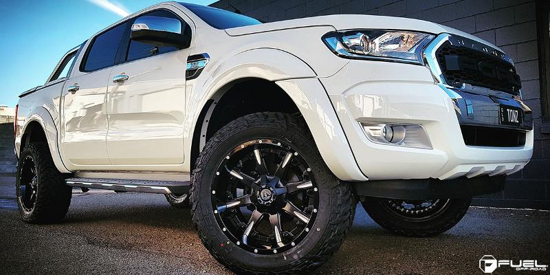 Ford Ranger with Fuel 2-Piece Wheels Nutz - D251