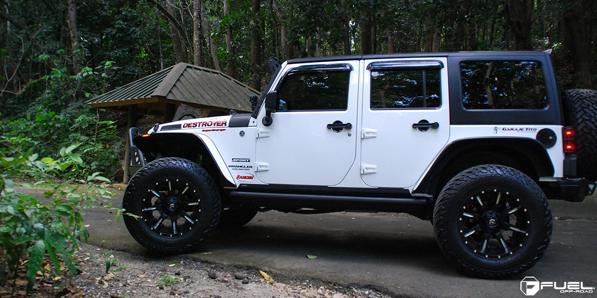 Jeep Wrangler Nutz D251 Gallery Fuel Off Road Wheels