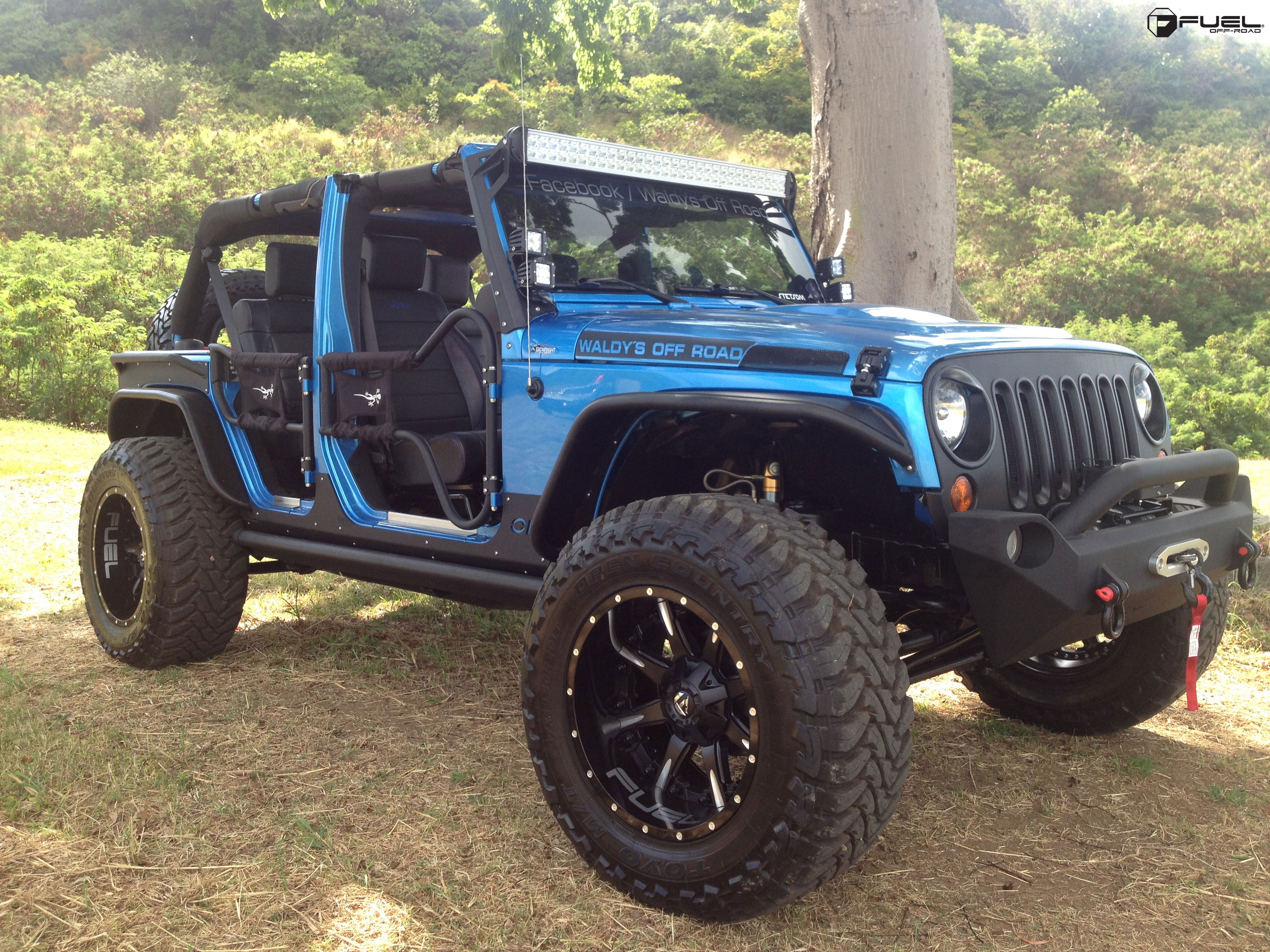 Jeep Wrangler Nutz D251 Gallery Fuel Off Road Wheels