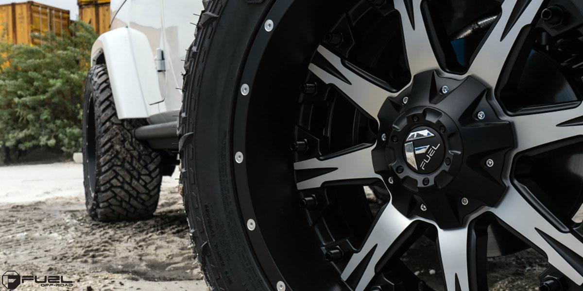 Jeep Wrangler Nutz D541 Gallery Fuel Off Road Wheels