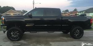 Chevrolet Silverado 1500 with Fuel 2-Piece Wheels Renegade - D265