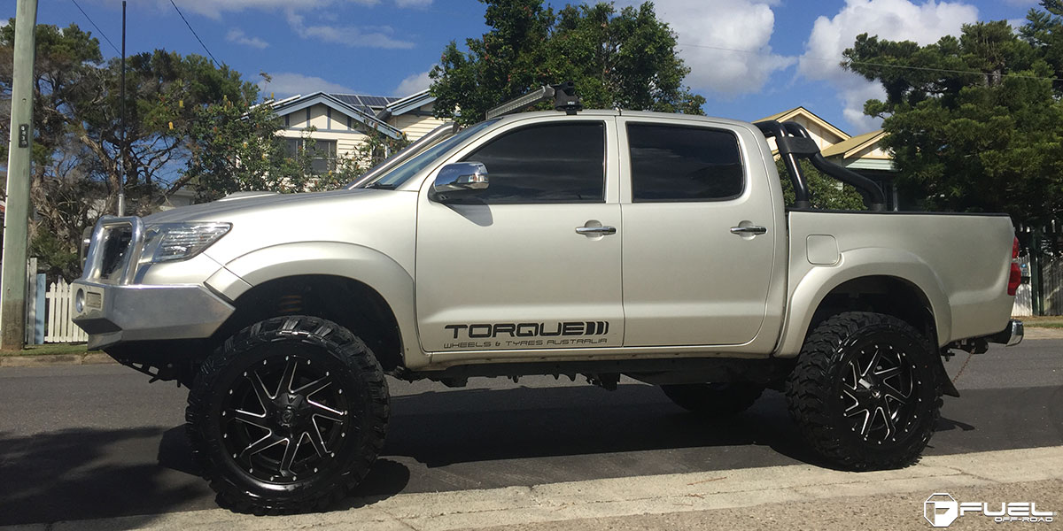 Toyota Tacoma Lifted >> Toyota Hilux Renegade - D265 Gallery - Fuel Off-Road Wheels