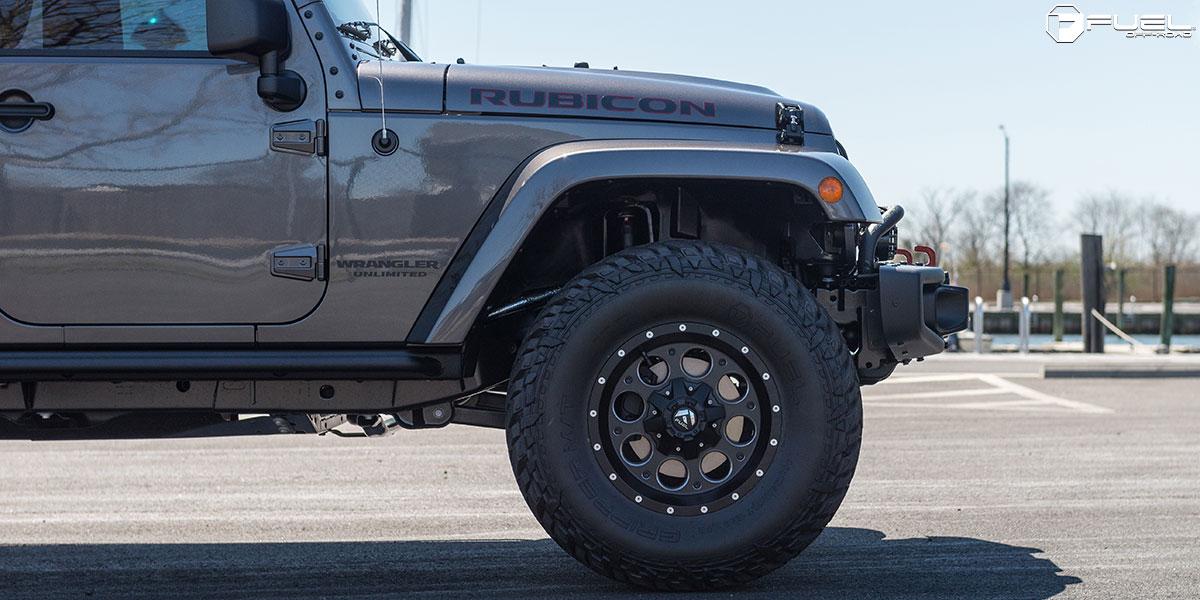 Jeep Wrangler Revolver D525 Gallery Fuel Off Road Wheels