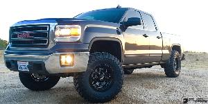 Savage - D563 on GMC Sierra 1500