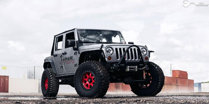 Jeep Wrangler FUEL ONE PIECE Trophy - D552