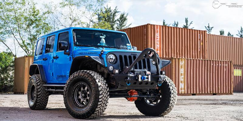 Jeep Wrangler FUEL ONE PIECE Trophy - D551