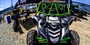 ATV - Yamaha YXZ with Fuel UTV Wheels
