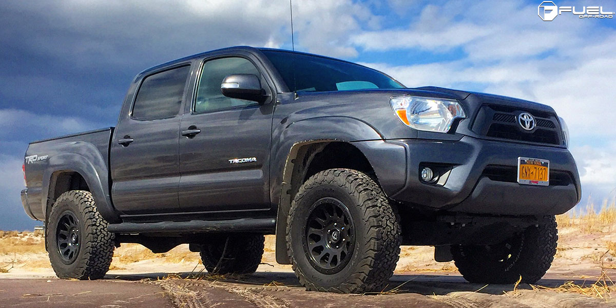 Toyota Tacoma With Fuel 1 Piece Wheels Vector   D579