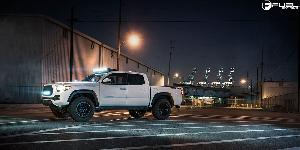 Toyota Tacoma with Fuel 1-Piece Wheels Vector - D579