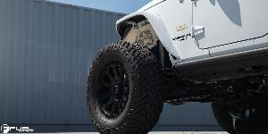 Jeep Wrangler with Fuel 1-Piece Wheels Vector - D579