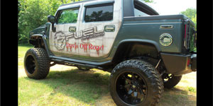 Hummer H2 with Fuel 1-Piece Wheels