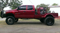 Throttle Dually Front - D213 on Dodge Ram 3500 Dual Rear Wheel