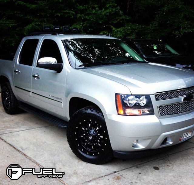 Chevrolet Avalanche Krank D517 Gallery Fuel Off Road