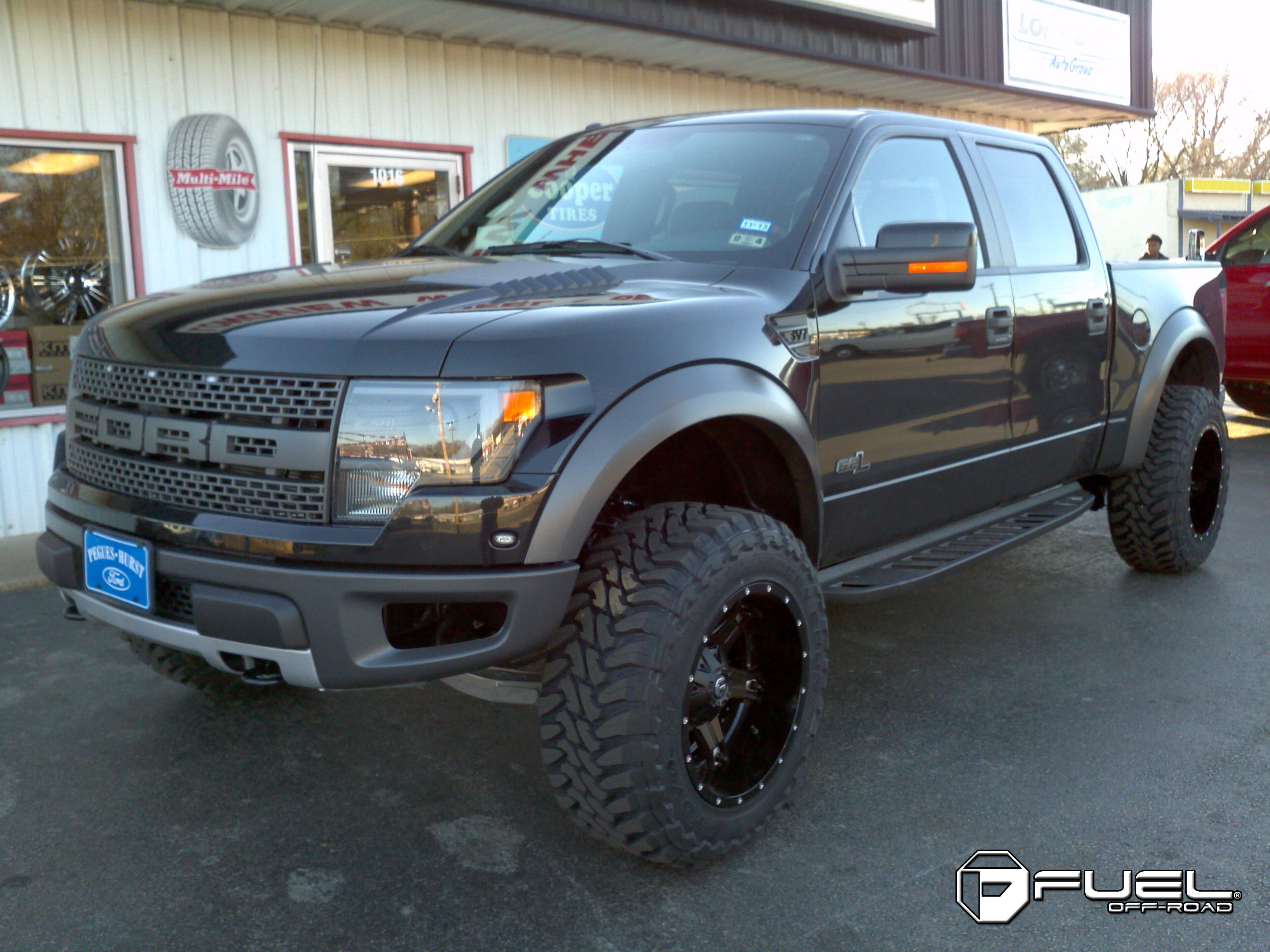 Ford F-150 Driller - D256 Gallery - Fuel Off-Road Wheels