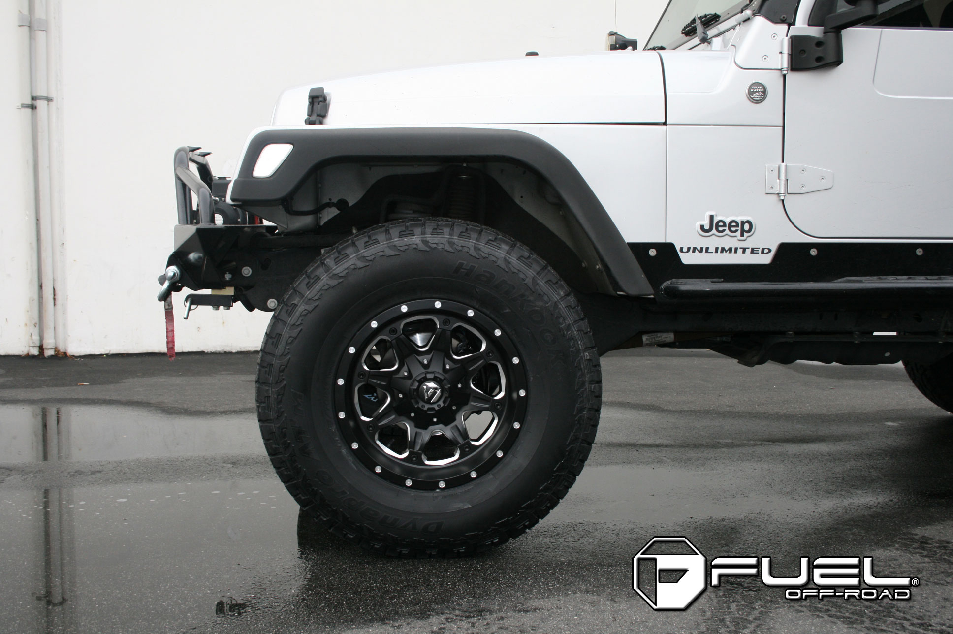 Jeep Wrangler Boost - D534 Gallery - Fuel Off-Road Wheels