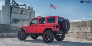 Jeep Wrangler with Fuel 1-Piece Wheels