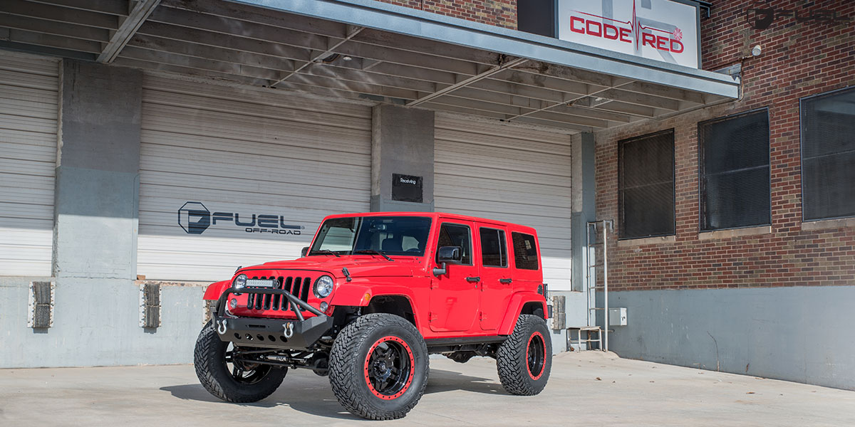 Nissan Truck Jeep Wrangler Anza - D557 Gallery - Fuel Off-Road Wheels