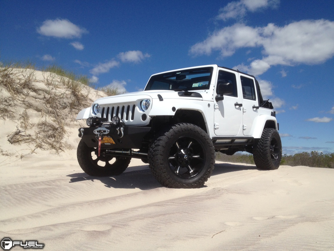 Jeep Wrangler Dune D523 Gallery Fuel Off Road Wheels With