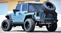 Jeep Wrangler with Fuel Deep Lip Wheels Hostage - D531