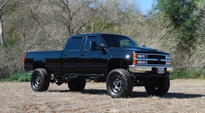 Chevrolet Silverado 2500 HD with Fuel 1-Piece Wheels Anza - D558