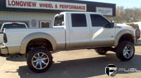Ford F-250 Super Duty with Fuel Deep Lip Wheels Octane - D508