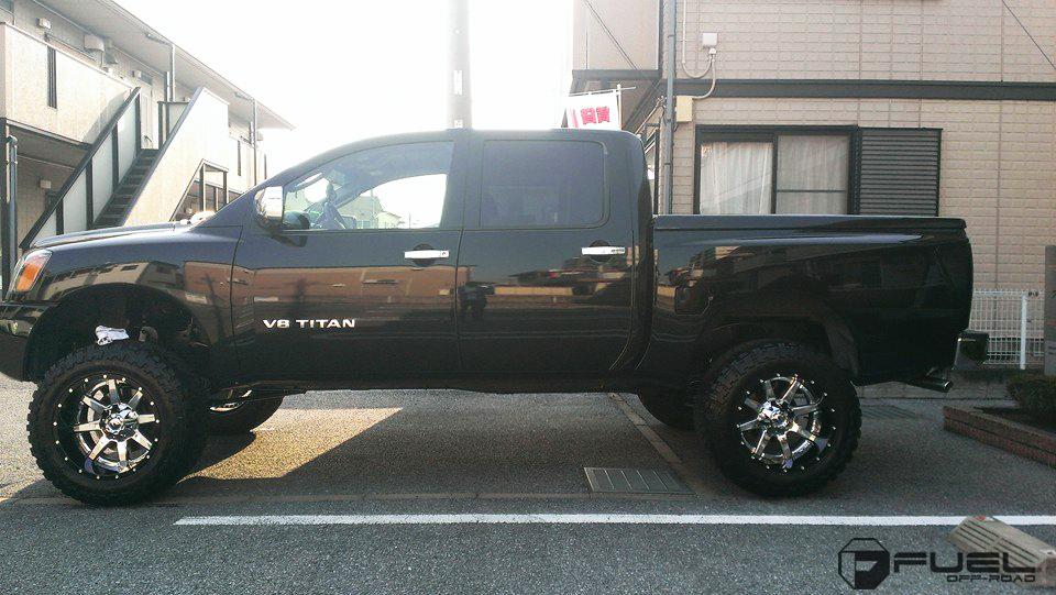 Nissan Titan With Fuel 2 Piece Wheels Maverick
