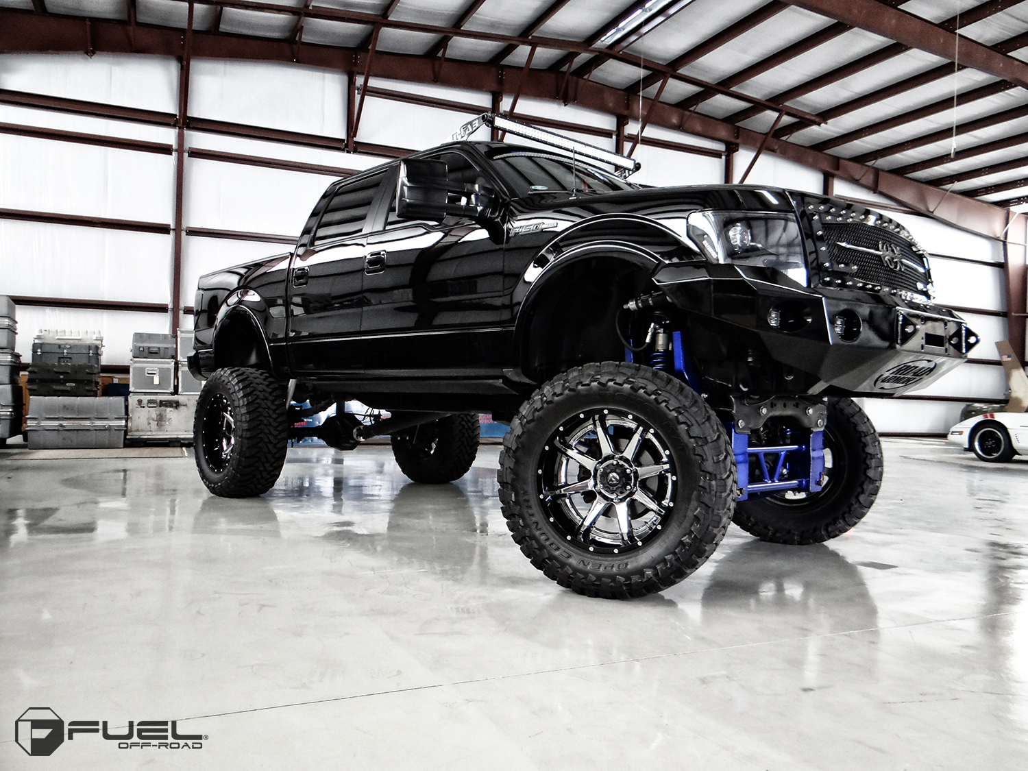 Ford F 150 Rampage D247 Gallery Fuel Off Road Wheels