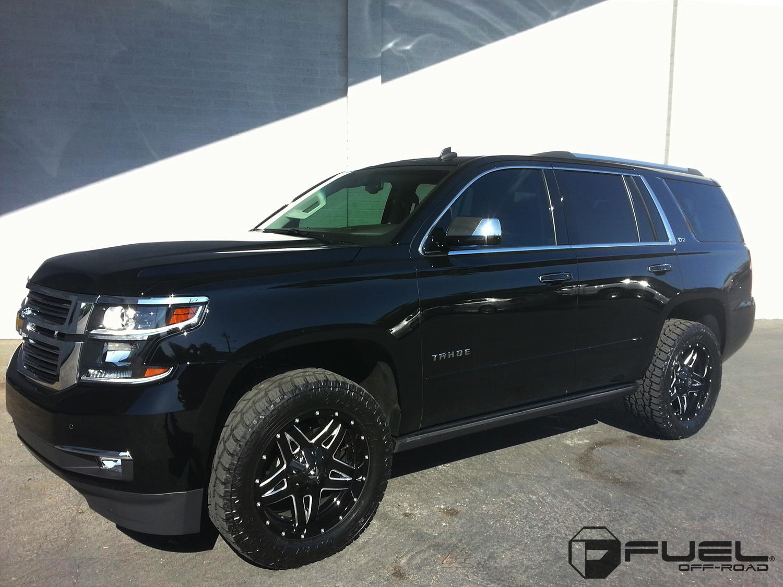 Chevrolet Tahoe Full Blown - D554 Gallery - Fuel Off-Road Wheels
