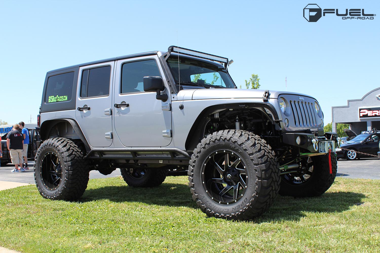 jeep wrangler renegade - d265 gallery - fuel off-road wheels