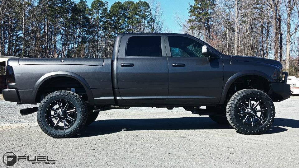 Dodge Ram 2500 Maverick - D538 Gallery - Fuel Off-Road Wheels