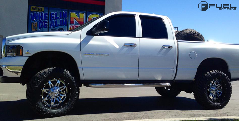 Dodge Ram 2500 with Fuel 2-Piece Wheels Lethal - D266