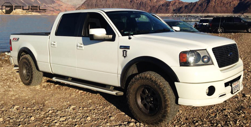 Ford F-150 with Fuel 1-Piece Wheels Trophy - D552