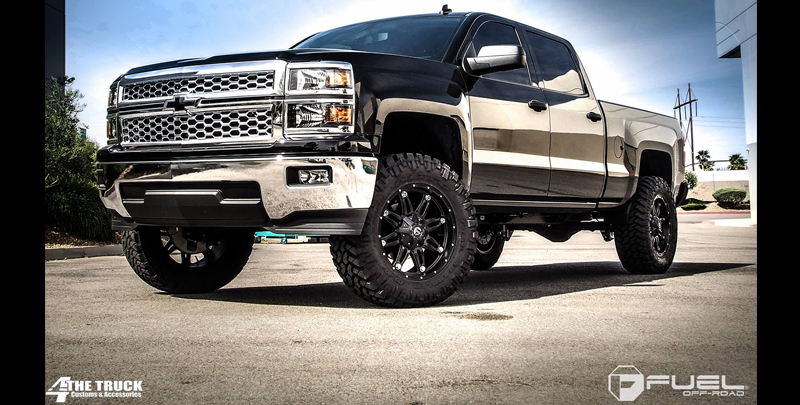 Chevrolet Silverado 1500 Hostage - D531 Gallery - Fuel Off-Road Wheels