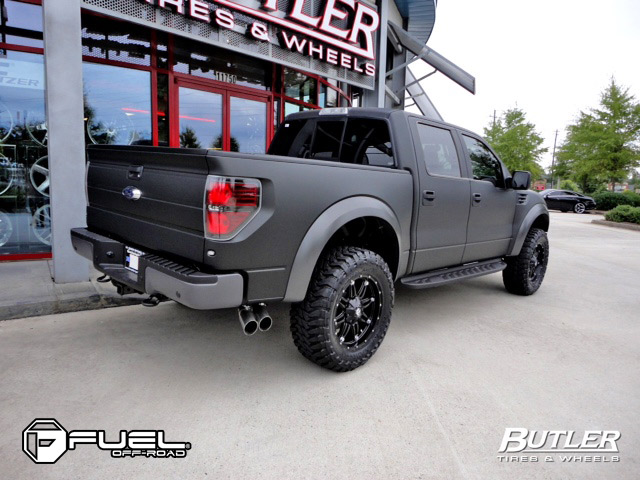 Ford F-150 Raptor Hostage - D531 Gallery - Fuel Off-Road Wheels